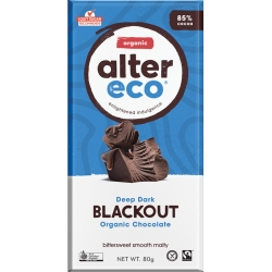 Dark Super Blackout Chocolate 80g