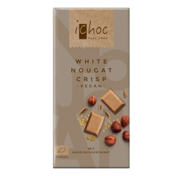 White Nougat Crisp Chocolate 80g