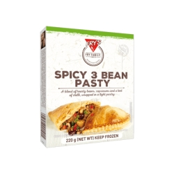 Spicy Three Bean Pastry 220g