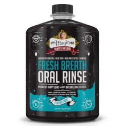 Activated Charcoal Oral Rinse - Mint 420ml