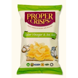 Crisps - Cider Vinegar & Sea Salt 150g