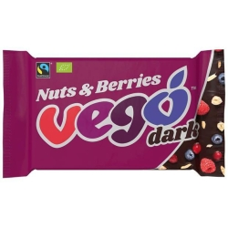 Nuts & Berries Dark Chocolate Bar 85g